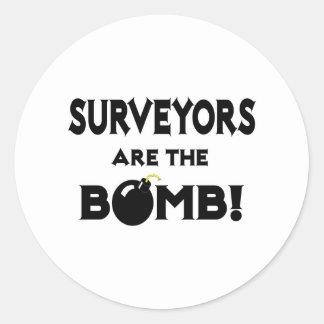 Surveyors Are The Bomb Sticker