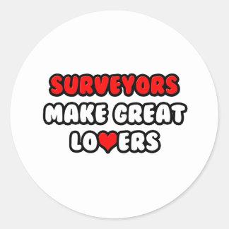 Surveyors Make Great Lovers Sticker