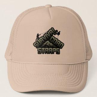 Survival Cord Straps Logo Trucker Hat