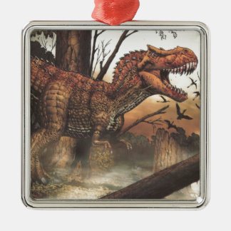 Survival for the fittest.jpg christmas tree ornament
