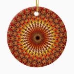 Survival - Fractal Ceramic Ornament