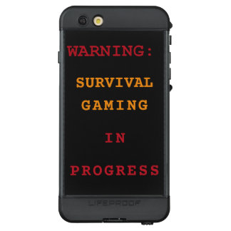 Survival Gaming In Progress LifeProof NÜÜD iPhone 6s Plus Case