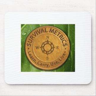 Survival Metrics.com Logo Mouse Pad