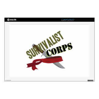 Survivalist Corps Laptop Skin
