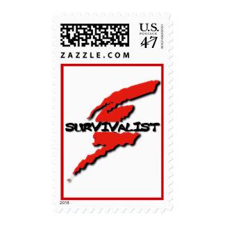 Survivalist  Emergency Preparedness Prepper Postage