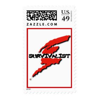 Survivalist  Emergency Preparedness Prepper Stamps