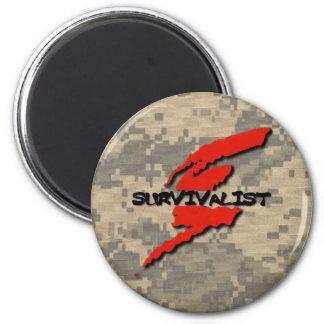 Survivalist Prepper Magnet