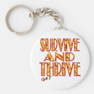 Survive and Thrive Keychain