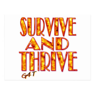 Survive and Thrive Postcard