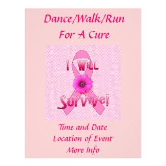 Survive Breast Cancer Flyer