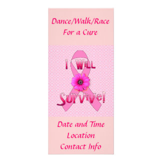 Survive Breast Cancer Rack Card