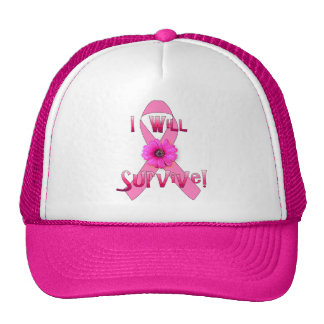 Survive Breast Cancer Trucker Hat