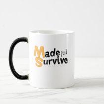 Survive Multiple Sclerosis Awarness Magic Mug
