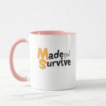 Survive Multiple Sclerosis Awarness Mug