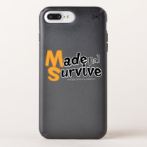 Survive Multiple Sclerosis Awarness Speck iPhone Case