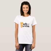Survive Multiple Sclerosis Awarness T-Shirt