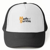 Survive Multiple Sclerosis Awarness Trucker Hat