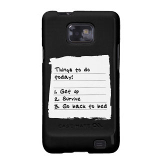 Survive Today Case Samsung Galaxy S2 Cover