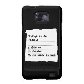 Survive Today Case Samsung Galaxy S Cases