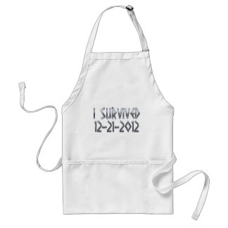 Survived 2012 adult apron
