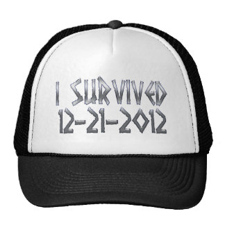 Survived 2012 mesh hats