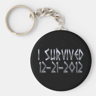 Survived 2012 keychains