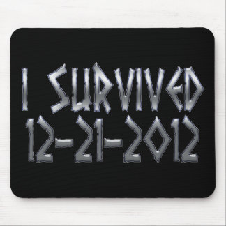 Survived 2012 mouse pad