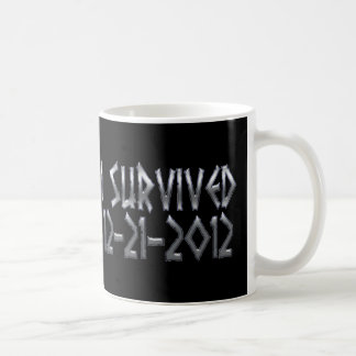 Survived 2012 coffee mugs