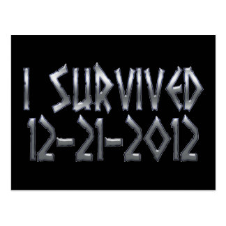 Survived 2012 post cards