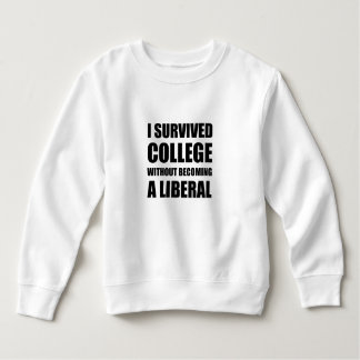 Survived College Without Becoming Liberal Sweatshirt