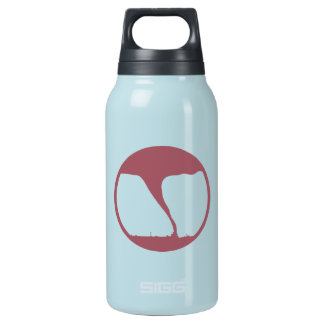 Survived dangerous weather in the name of science insulated water bottle