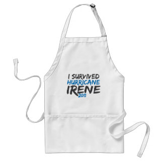 Survived Hurricane Irene Adult Apron