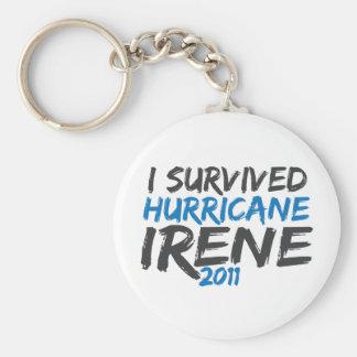 Survived Hurricane Irene Keychain