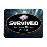 Survived Hurricane Michael Magnet
