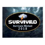 Survived Hurricane Michael Postcard