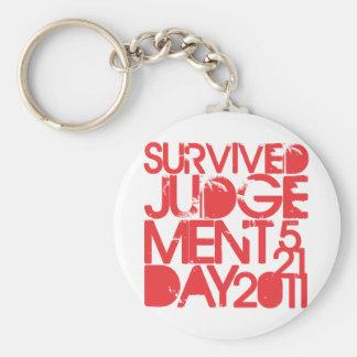 Survived Judgement Day 2011 Keychain