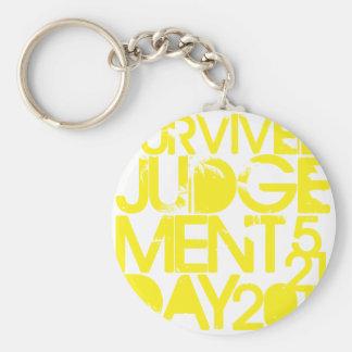 Survived Judgement Day 2011 Keychains
