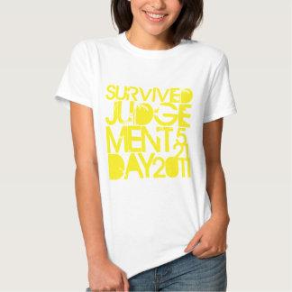 Survived Judgement Day 2011 Shirt