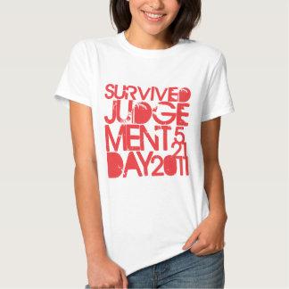 Survived Judgement Day 2011 T-shirt