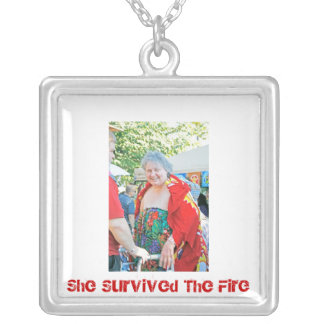 Survived Necklace