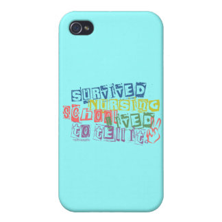 Survived Nursing School - Lived to Tell it iPhone 4 Covers