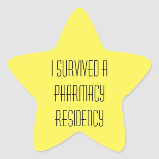 Survived pharmacy residency sticker