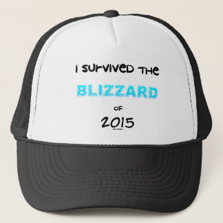 Survived the Blizzard 2015 Trucker Hat