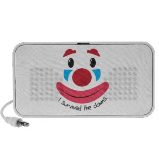 Survived the Clowns Mp3 Speaker