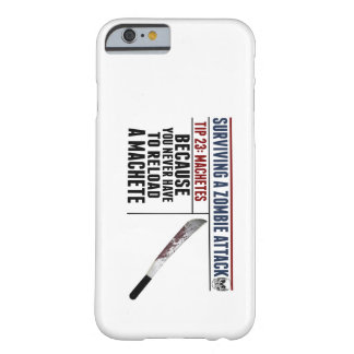 SURVIVING A ZOMBIE ATTACK iPhone 6 case