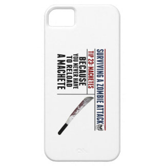 SURVIVING A ZOMBIE ATTACK iPhone Case iPhone 5 Cases