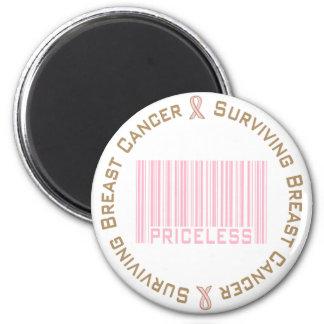 Surviving Breast Cancer Priceless Magnet