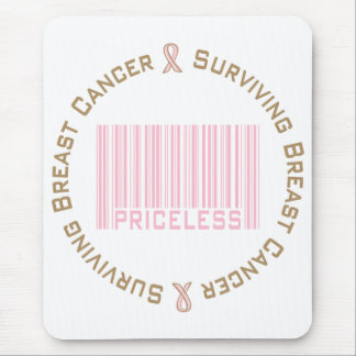 Surviving Breast Cancer Priceless Mouse Pad