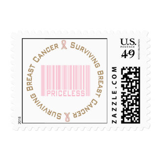 Surviving Breast Cancer Priceless Stamps