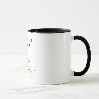 Surviving Cancer is a Way of Life: STRONGER THAN C Mug